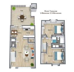 Floor Plan Dover