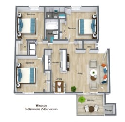 Floor Plan Windsor
