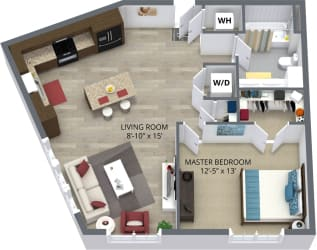 The ash floor plan by The Aster