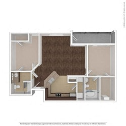 Floor Plan at Orion Prosper, Texas, 75078