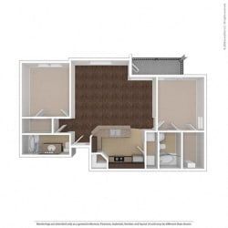 Floor Plan at Orion Prosper, Prosper, 75078