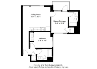B5 floor plan at Windsor at Dogpatch, 2660 3rd Street, 94107