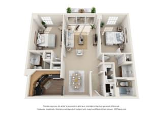 Floor Plan Marseilles - Associates