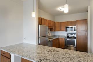 Furnished Kitchen at Waterstone Place, Minnetonka, 55305