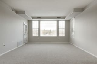 Large Living Room With Balcony at Waterstone Place, Minnetonka, MN