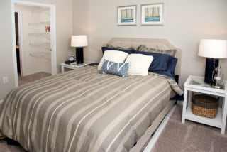 Spacious Bedroom With Walk-in Closet And Private Bath at Waterstone Place, Minnetonka, 55305