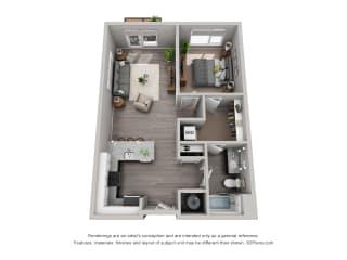 Spacious Floor Plan at CityWay, Indiana, 46204