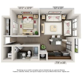 Residences at CityWay Apartments in Indianapolis