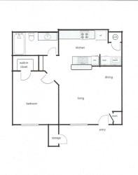1x1 - Phase II (587 sq ft)