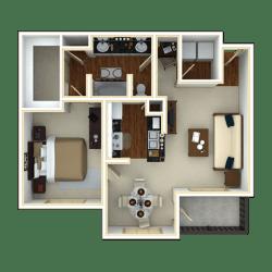 Floor Plan DATE PALM II