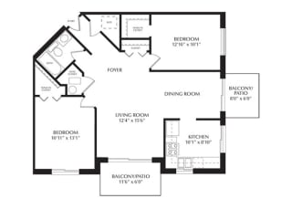 Floor Plan Willow