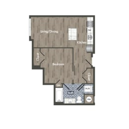 A23Z  Floor Plan at Park Kennedy, Washington
