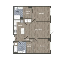B9Z Floor Plan at Park Kennedy, Washington