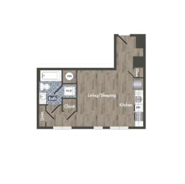 S7A Floor Plan at Park Kennedy, Washington