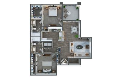 Junction two bedroom two bathroom