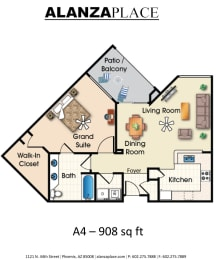 Biltmore one bedroom one bathroom