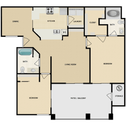 Gullwing two bedroom two bathroom