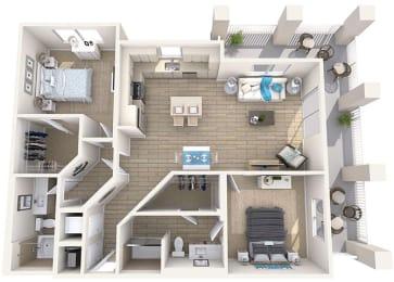 Floor Plan Bluefin