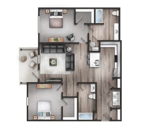 The Quarry two bedroom two bathroom