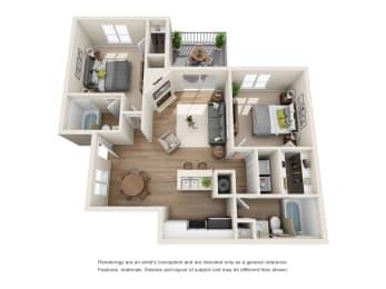 Key West Floor Plan