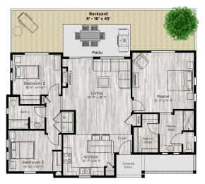 The Haven Floor Plan at Avilla Eastlake, Thornton, CO