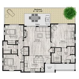 The Haven Floor Plan at Avilla Parkway, Celina, 75009