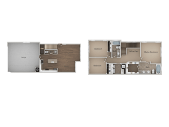 3X2.5 TOWNHOME at Parc at Day Dairy Apartments & Townhomes, Draper