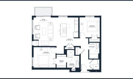 Floor Plan BOWIE