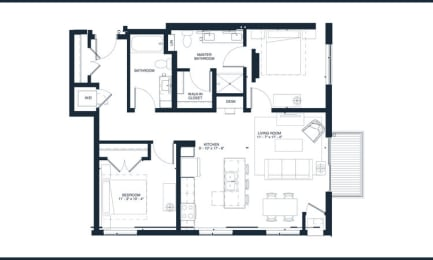 Floor Plan CLAPTON