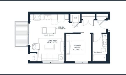 Presley floorplan layout