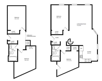 Floor Plan 2300 CLAR -4 BED