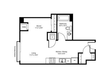 Floor Plan THE ORPHEUM