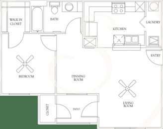 Floor Plan PLAN A1