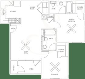 Floor Plan PLAN B1