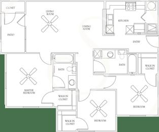 Floor Plan PLAN C2