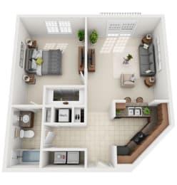 Floor Plan 1-C1