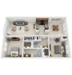 Floor Plan 2-B2