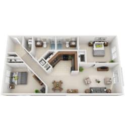 Floor Plan 2-C1
