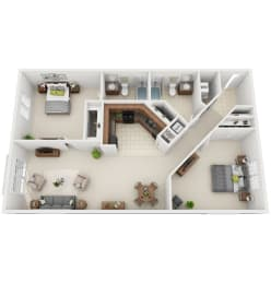 Floor Plan 2-D1