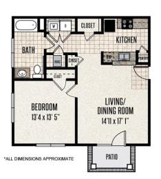 Floor Plan 1-B1
