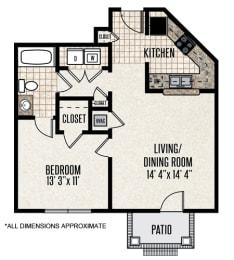Floor Plan 1-C4