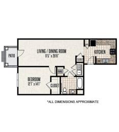 Floor Plan 1-D1