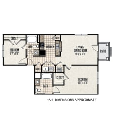 Floor Plan 2-A1