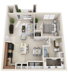 Floor Plan A1.3
