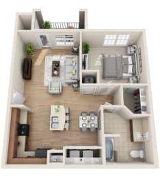 Floor Plan A1-M