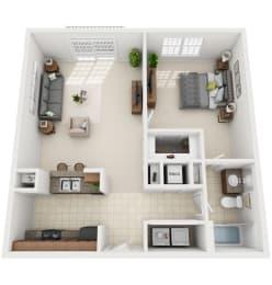 Floor Plan 1-A1
