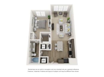 Floor Plan A2S