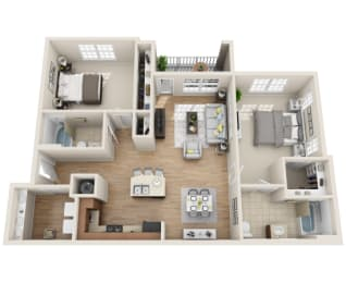 Floor Plan B1.3-M