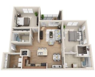 Floor Plan B1-M