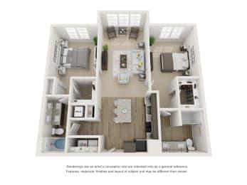 Floor Plan B1S